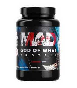 MAD GOD OF WHEY 1000g | Geneticlab